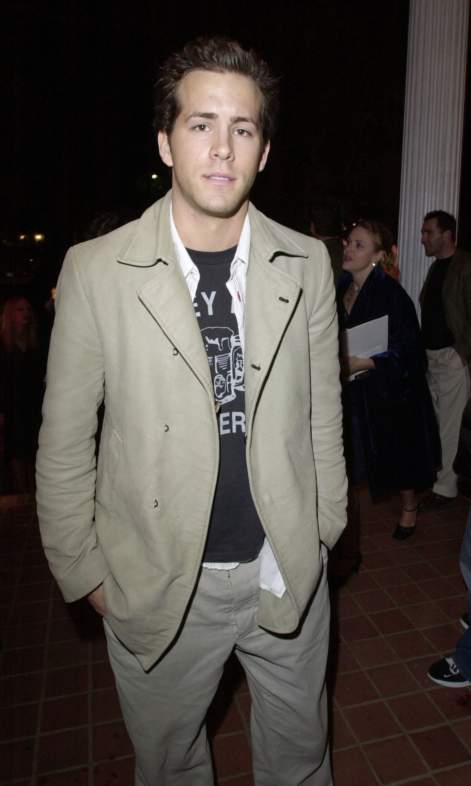 When He Struck a Pose at Playboy's 2002 Super Bowl Party