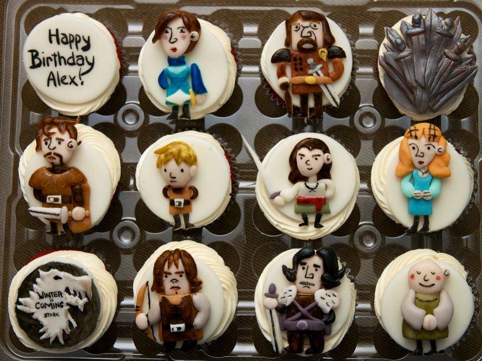 House Stark Cupcakes