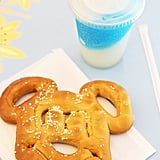 Frozen Lemonade and Mickey Pretzel