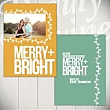 Merry & Bright Card from Etsy ($10 template)