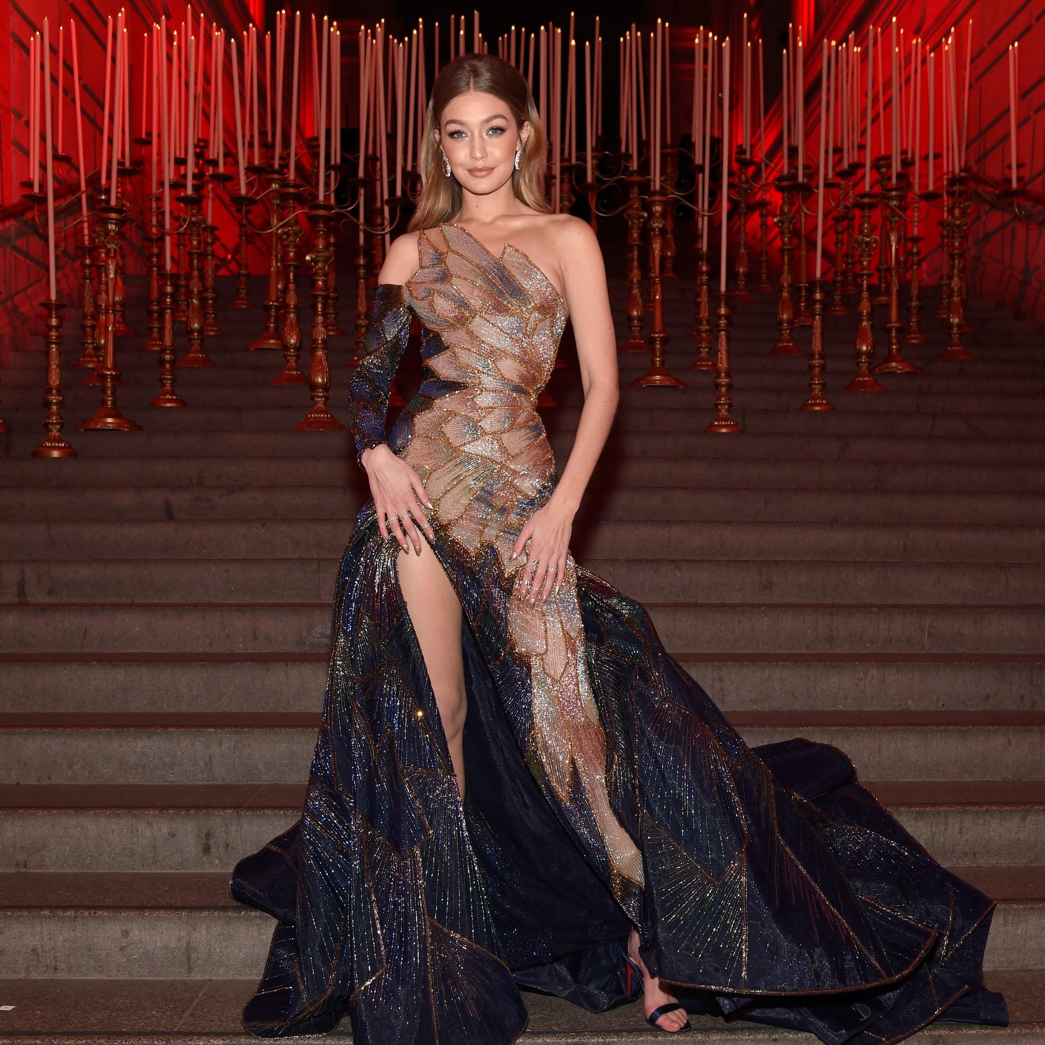 Gigi Hadid in Versace at the 2018 Met Gala | POPSUGAR Fashion