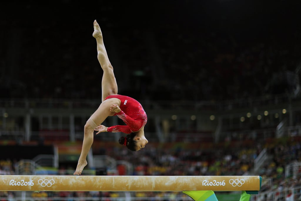 Laurie Hernandez's Gymnastics Videos on Instagram