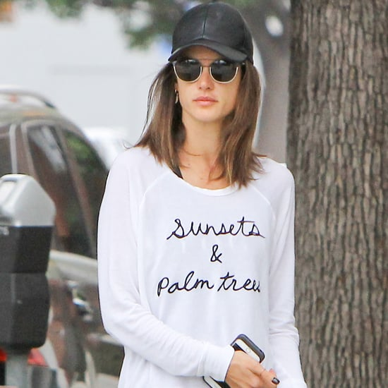 Alessandra Ambrosio Wearing Birkenstock Sandals May 2016