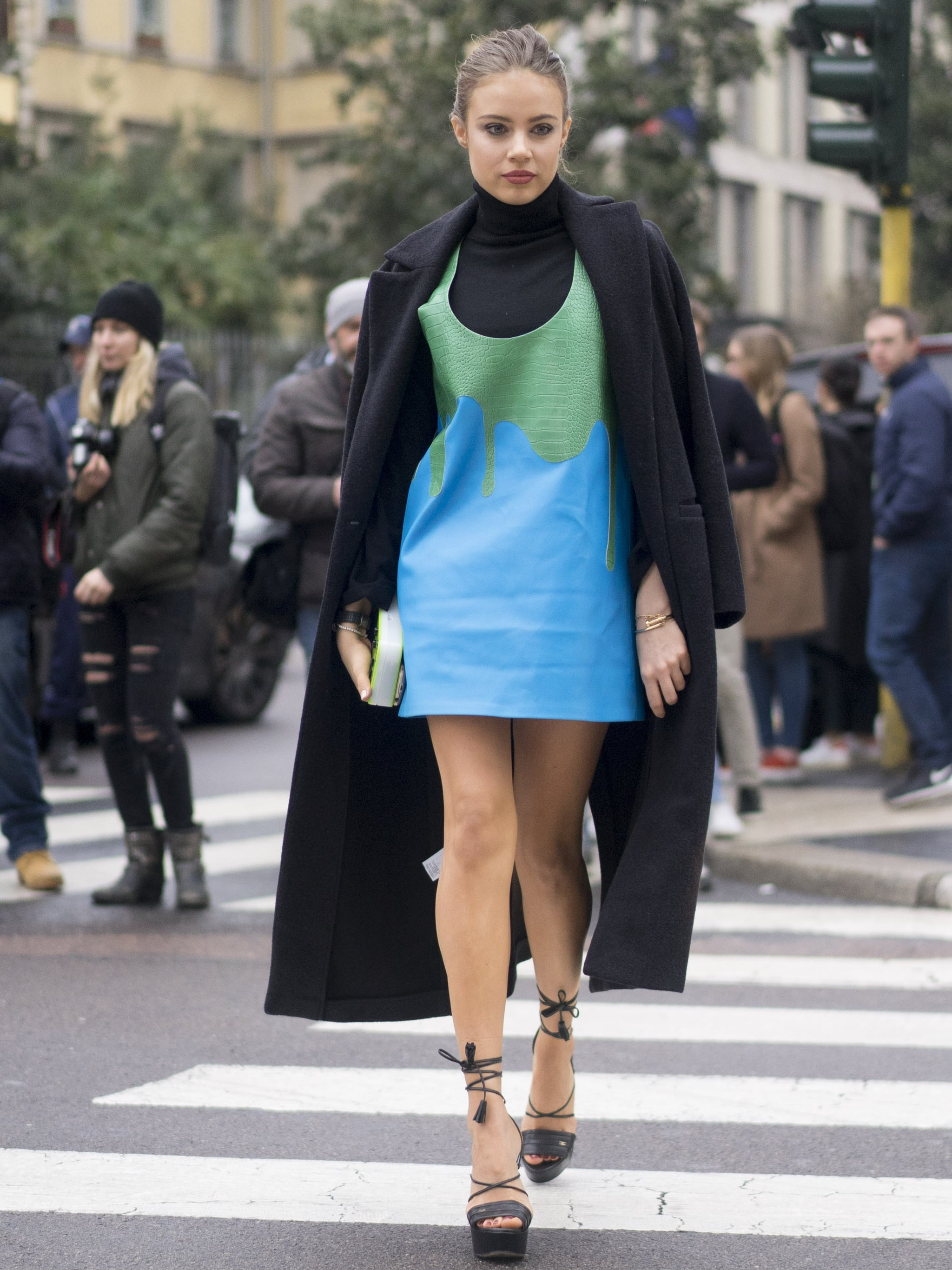 Fashion Week Fall 2016 This Street Style Confirms 2016 39 S Biggest Trends Popsugar Fashion