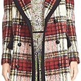 Burberry Tartan Plaid Wool Blend Coat ($3,695)