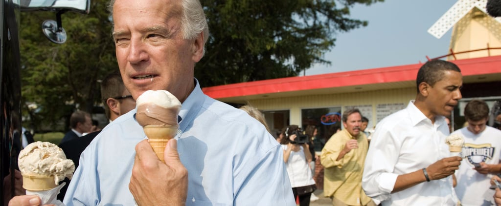Joe Biden Loves Ice Cream So Much He's Literally Getting His Own Flavor