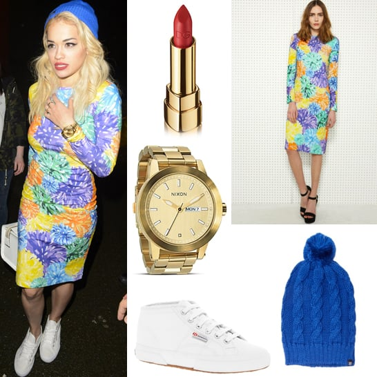 Rita Ora Wears House of Holland