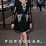 Kristen Stewart was cheerful in NYC on Wednesday.