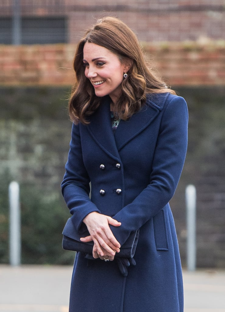 Kate Middleton's Blue Hobbs Coat