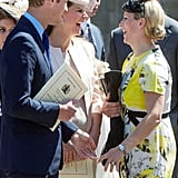 The Duke and Duchess of Cambridge and Zara Tindall