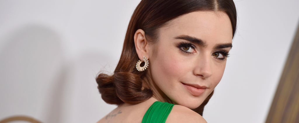 Lily Collins Talks About Her Eyebrows 2017