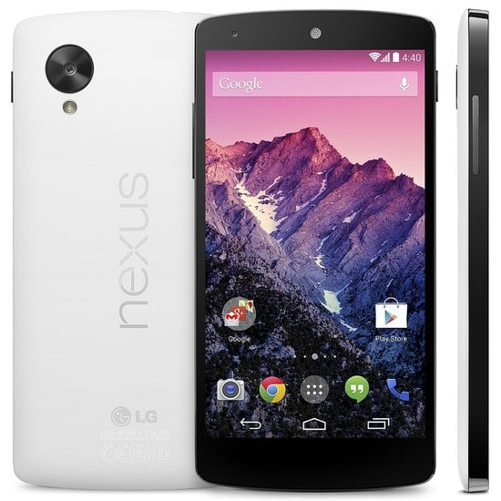 The Phone Made For Android Kit Kat: Nexus 5