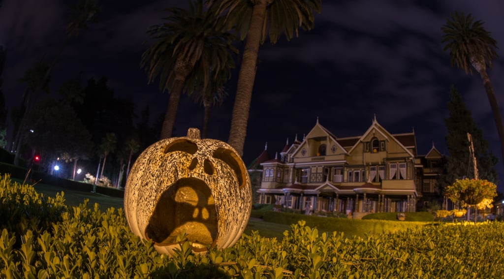 The Gardens at Halloween