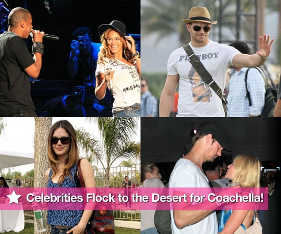 Pictures Of Kristen Stewart, Kate Bosworth, Kellan Lutz and More at Coachella