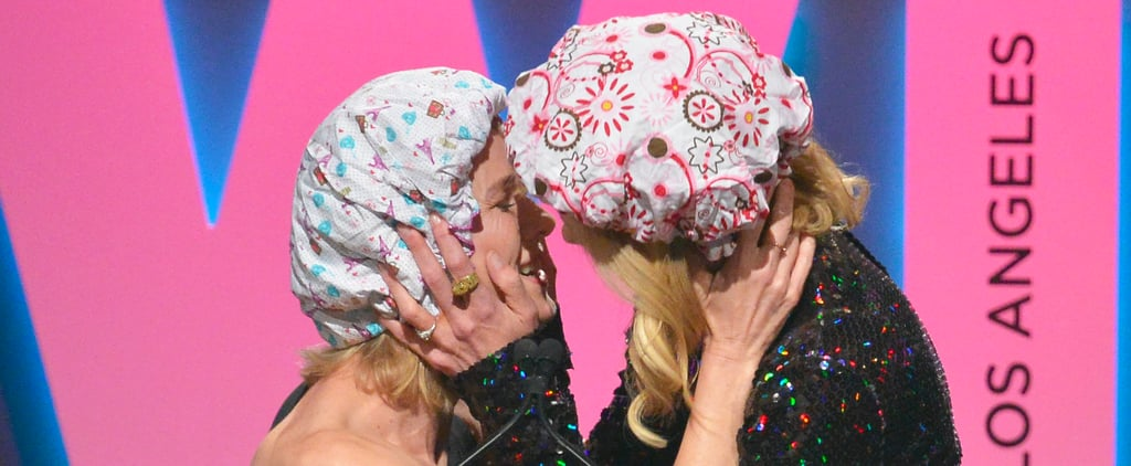 Nicole Kidman Makes Out With BFF Naomi Watts