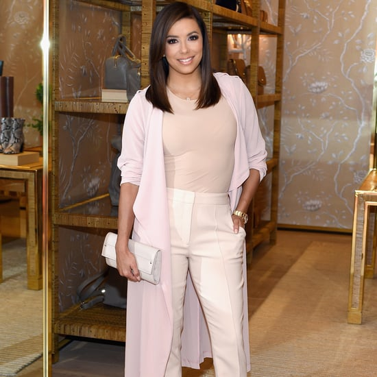 Eva Longoria and Her Sister Meet Pope Francis in DC