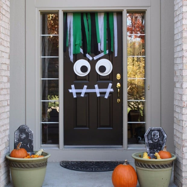 & How to Decorate Front Door for Halloween | POPSUGAR Home