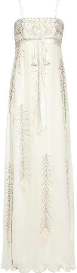 Matthew Williamson Embellished Silk-Chiffon Gown ($5,995)