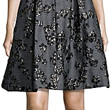 Lela Rose Floral Jacquard Half-Sleeve Dress ($1,995)