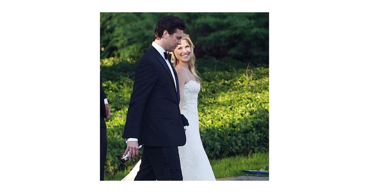 Ali Larter and Hayes MacArthur got married in Maine in ...
