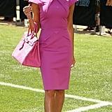 Victoria Popularised This Roland Mouret Dress