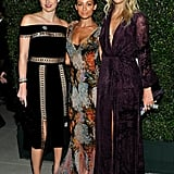 Norah Weinstein, Nicole Richie, and Kelly Sawyer Patricof made a stylish threesome at the Wallis Annenberg Center for the Performing Arts.