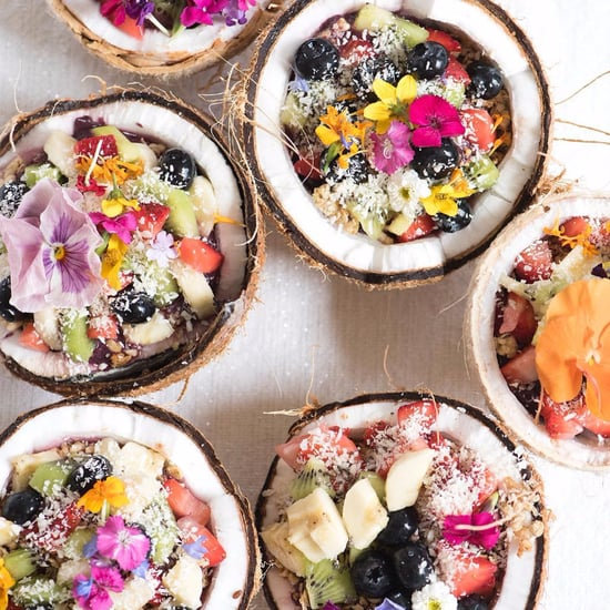 Coconut Shell Smoothie Bowls