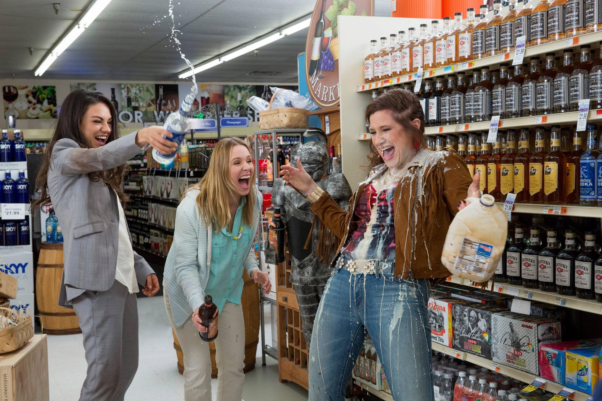 BAD MOMS, from left: Mila Kunis, Kristen Bell, Kathryn Hahn, 2016.  ph: Michelle K. Short /  STX Entertainment / courtesy Everett Collection