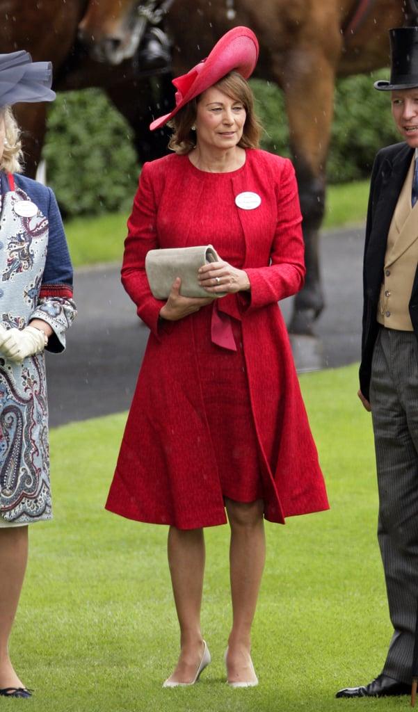 Carole Middleton in June 2012