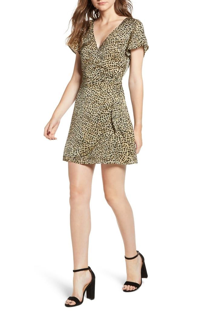 1df9f555b7 Cupcakes and Cashmere Lenna Leopard Print Dress