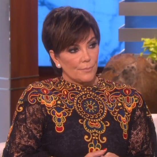 Kris Jenner Talks Nicole Brown and O.J. Simpson on Ellen