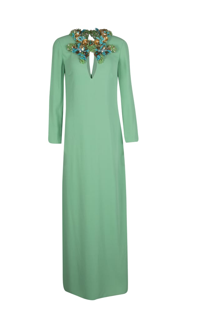 Gucci, Mint Silk Long Dress AED3,037