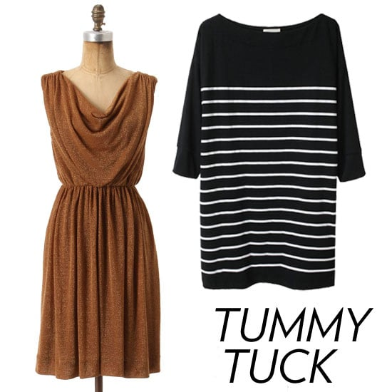 Stylish Tummy-Concealing Clothes For Thanksgiving and Beyond