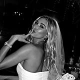 Hailey Baldwin's White Dress at Her Bachelorette Party