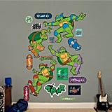 Fathead Teenage Mutant Ninja Turtles Classic Skateboarding Collection Wall Decals