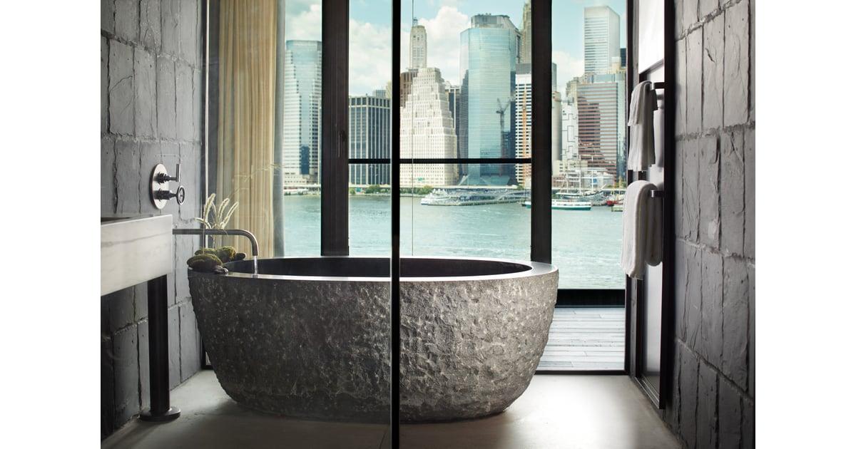 1 Hotel Brooklyn Bridge New York Best Hotel Bathtubs Popsugar Home Australia Photo 2