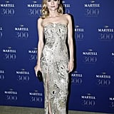 The star shined bright in Jason Wu as she attended Martell Cognac's 300th anniversary.