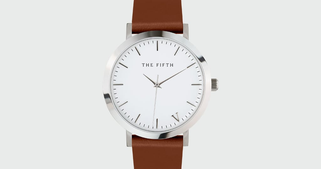 The 5th continuously offers up simple watches like this Melbourne Minimal White & Tan ($105) style, an essential in anyone's wardrobe.