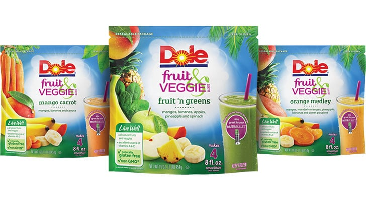 More From DOLE® Fruit & Veggie Blends