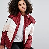 Monki Color Block Padded Jacket