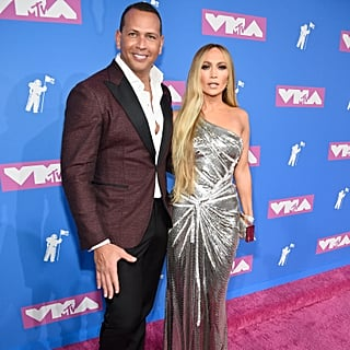 Jennifer Lopez and Alex Rodriguez at the VMAs 2018