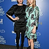 Cynthia Rowley and Kit Keenan at 2018 Screening of Mary Poppins Returns
