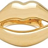 CC Skye Kiss Me Lips Ring ($125)
