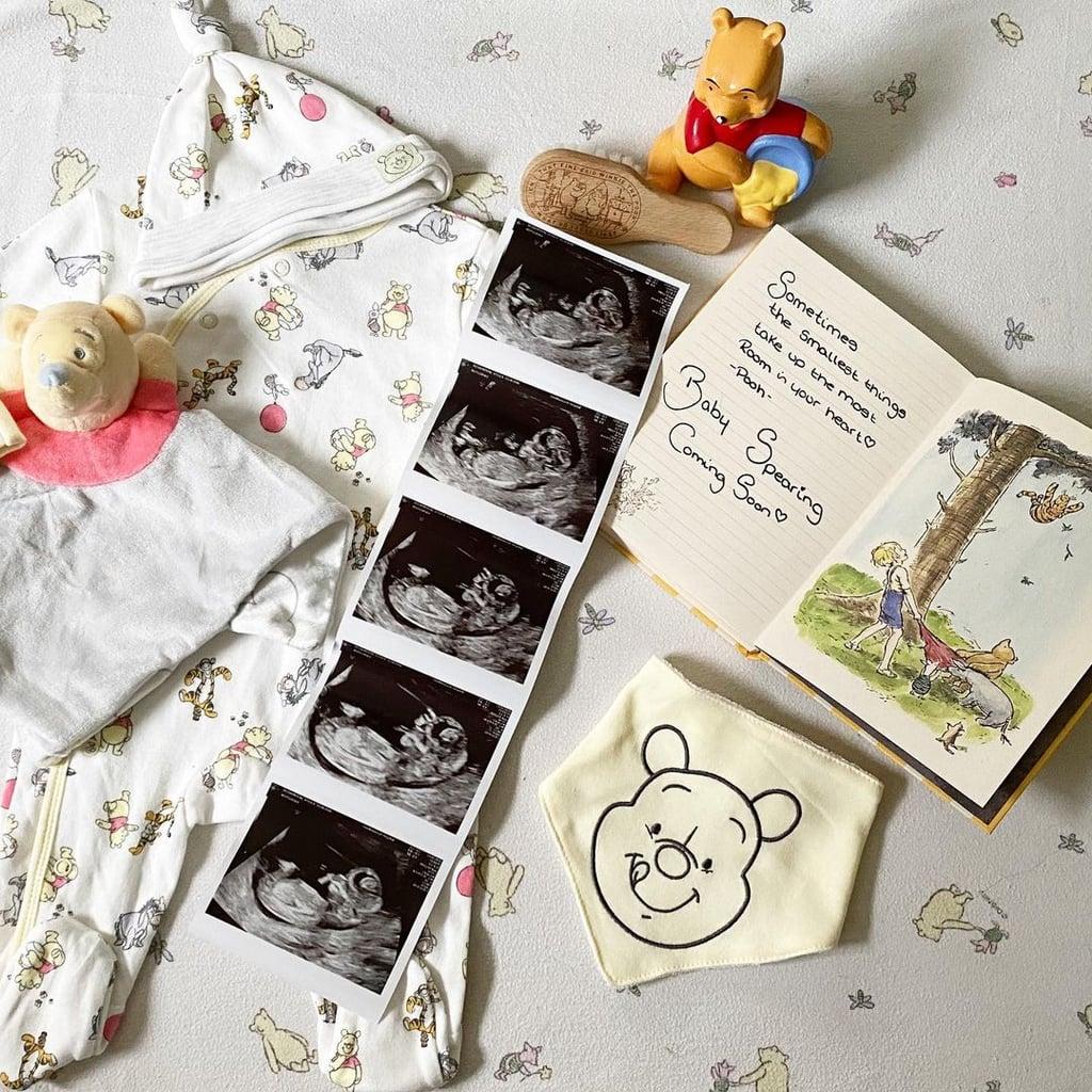 Winnie the Pooh Pregnancy Announcement