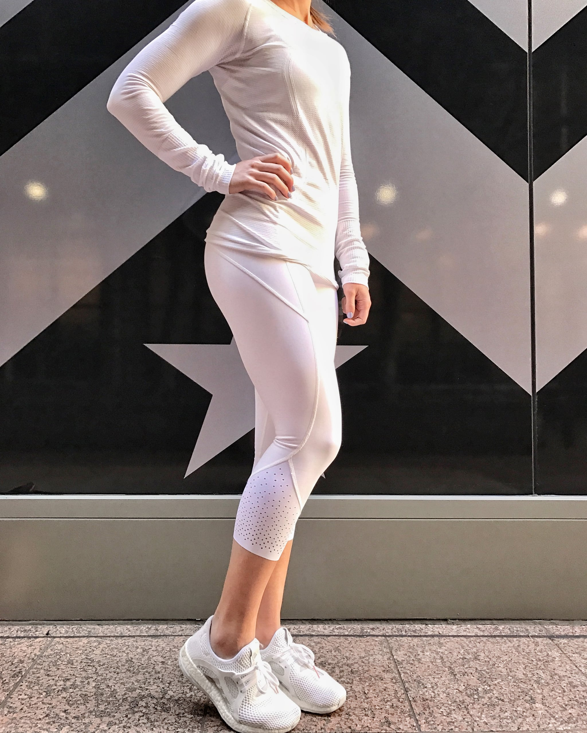 All White Workout Clothes Test Popsugar Fitness
