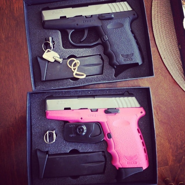 """A Pink Gun to """"Put the Fear of God Into Some Kid at the Door"""""""