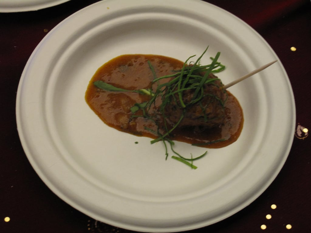Lamb curry meatball