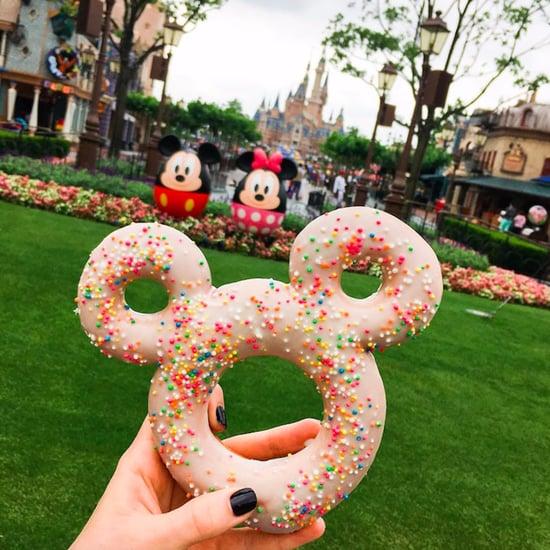 Shanghai Disneyland Mickey Doughnut