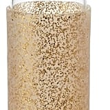 Kate Spade Gold Glitter Glass Water Bottle