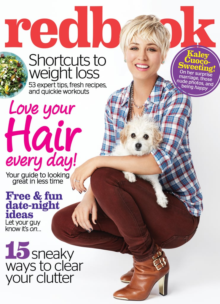 "Unlike stars like Emma Watson, Beyoncé and Jennifer Aniston, Kaley Cuoco is not interested in calling herself a feminist. The actress revealed her surprising thoughts on women's rights during an interview for the February issue of Redbook, which hits US newsagents on Jan. 6. However, after the interview was released, Kaley clarified her comments on feminism via Instagram, writing: ""In my Redbook article, some people have taken offense to my comments regarding feminism — if any of you are In the 'biz' you are well aware of how words can be taken out of context. I'm completely blessed and grateful that strong women have paved the way for my success along with many others. I apologize if anyone was offended. Anyone that truly knows me, knows my heart and knows what I meant.""  Read on to hear more from Kaley's interview with Redbook."